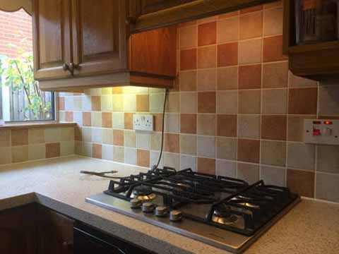 Ceramic wall tiles in kitchen to customer requirements